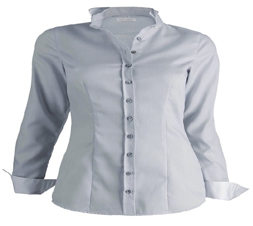 Grey Formal Shirt for Women