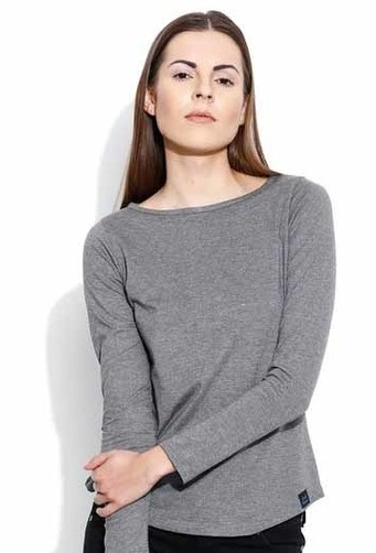 Grey T shirts for women