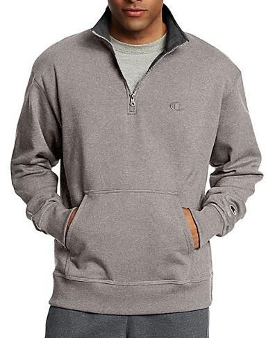 Half Zipped Men's FitnessSweatshirt