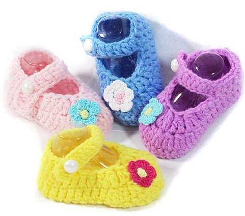 Handmade Crochet Shoe for Toddler