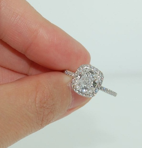 rings ring engagement martha in vert cushion premier weddings cut forevermark stewart gem shaped white gold diamond