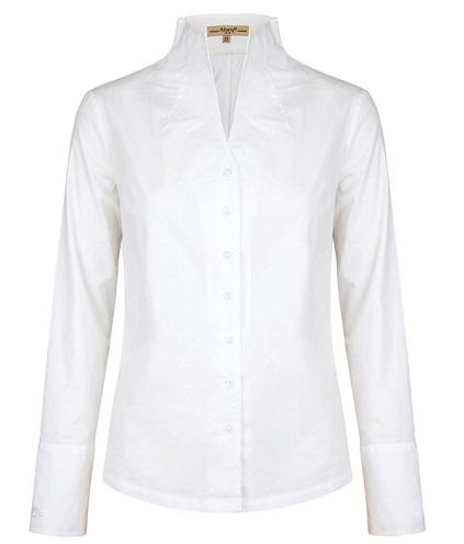 High Collar Cotton Shirt