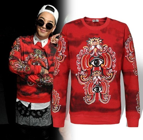 Hip Hop Style Men's Sweatshirt