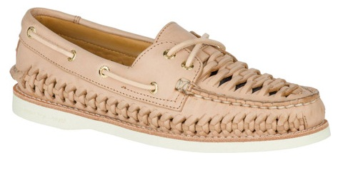 Hurache Woven Boat Shoe For Women