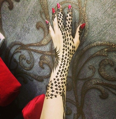 Khaleeji Henna Designs: Top 10 Attractive Khaleeji Mehndi Designs