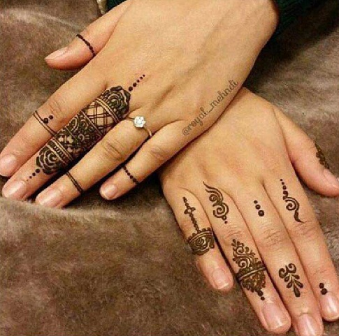10 Latest Ring Mehndi Designs In 2018 Styles At Life