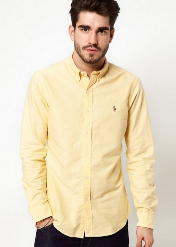 Light yellow shirt