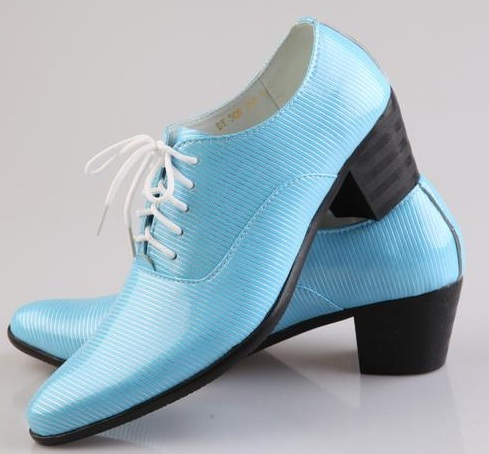 LightBlue Men's Dress Shoes
