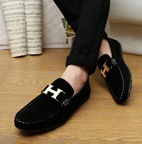 Loafer Flat Black Shoes