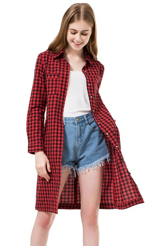 Lounge Fashion Long Shirt for Woman
