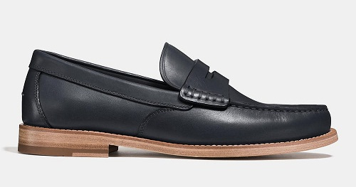 Manhattan Coach Leather Loafer for Men