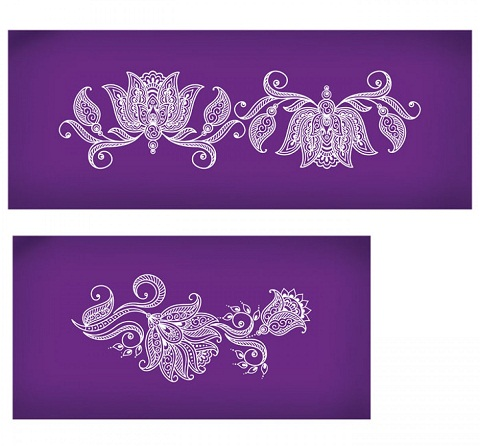 Mehndi Stencils Design For Arms