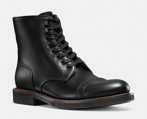 Men´s Cap Toe Coach Boot
