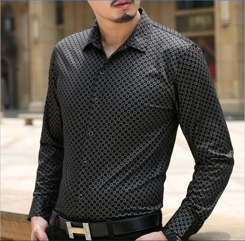 Men's Cotton Party Wear Shirt