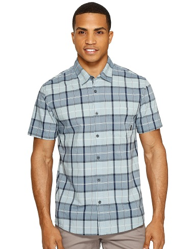 Men's Daily Wear Short Sleeves Button up Shirts