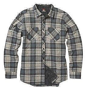 Men's Quilted flannel shirt