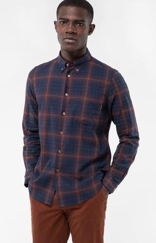 Men's Slim Fit Tailor Stitch Cotton Shirt