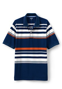 Mesh polo men's shirt