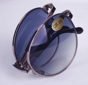 Metal Finish Folding Sunglasses for Men