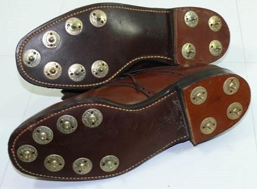 Metal Spike Golf Shoes