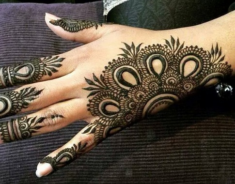 Mehndi Designs 2017 New Style : 10 latest single line mehndi designs with pictures styles at life