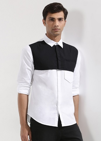 Monochrome Slim fit shirt