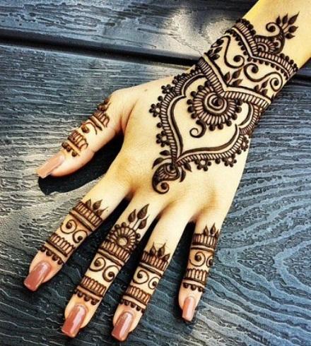 Moroccan Khafif Mehandi Designs