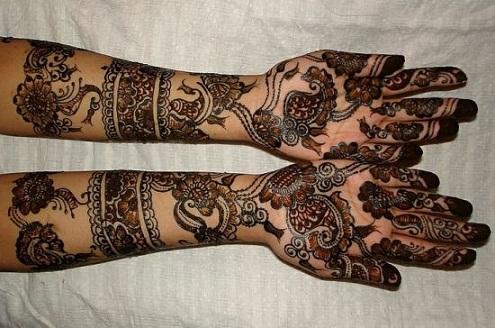 Motif Marathi Mehndi Designs