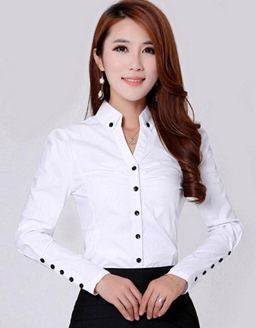Multi button formal shirt