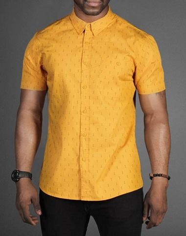 Mustard yellow shirt