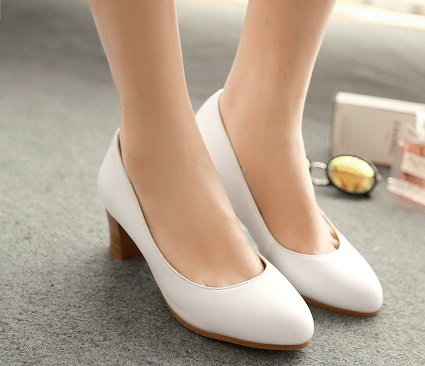 Official White Pump Shoes for Women