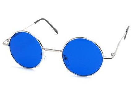 Old special Blue Sunglasses