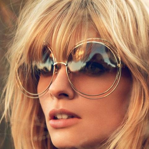 Oversized Frame Sunglass
