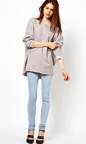Oversized Women's Sweatshirt