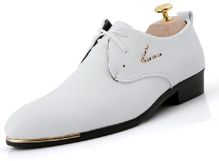 Oxford Men White Shoes