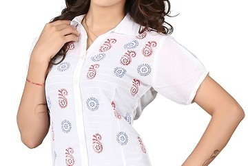 Party Wear Printed Shirts for Women