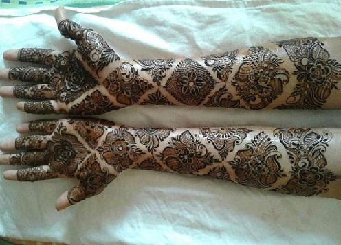 Mehndi Patterns And Designs : Latest khafif mehandi designs with images styles at life