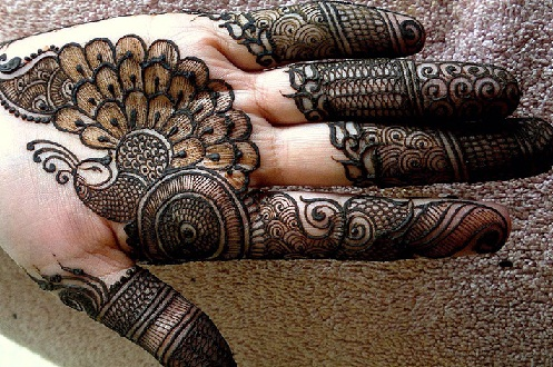 Simple Mehndi Patterns Palms : Latest simple mehndi designs for palm styles at life
