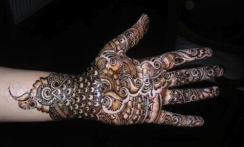 bengali mehndi designs