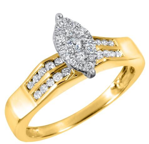 Pearl Golden Ring for Women