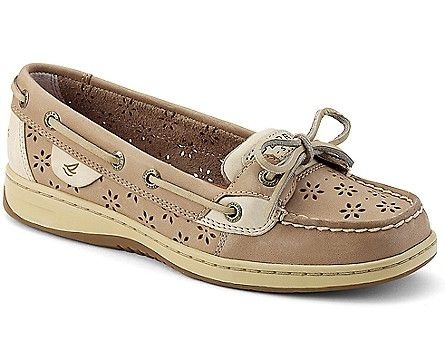 Perforated Boat Shoe for Women