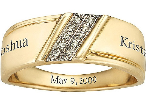 Personalised Wedding Bands for Men