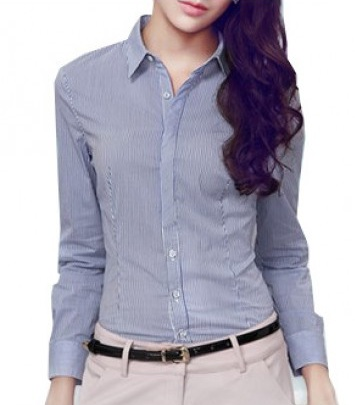 Pin striped formal shirt