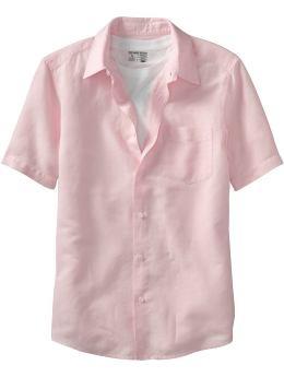 Plain Linen Shirt
