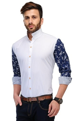 Plain and Printed Men's Shirt