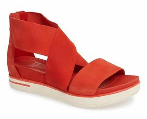 Platform Casual Red Shoes for Women's