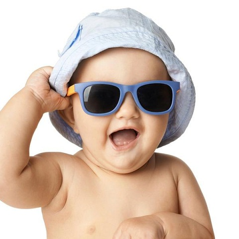 Protect your baby's eye health with these tiny, top-quality sunglasses with total UVA and UVB protection. Equally important, their flexible construction makes them extra comfortable so your baby .