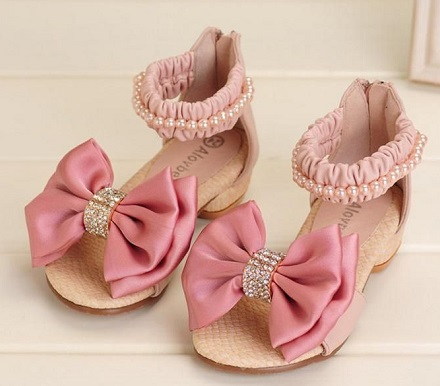 Princess Style Pearl Pink Shoes