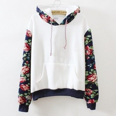 Print and Plain sweatshirt