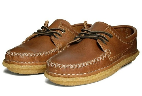 Quoddy Crepe Sole Boat Shoe for Men
